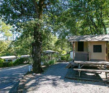 location eco tente baléare camping Ardèche