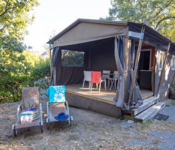 location mobilodge camping Ardèche