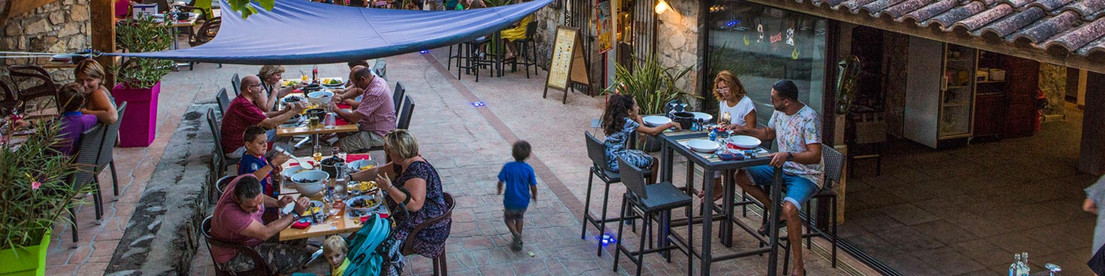 camping avec restaurant en Ardèche