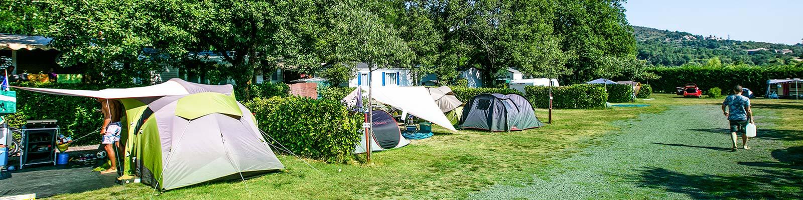 louer emplacements en Ardèche