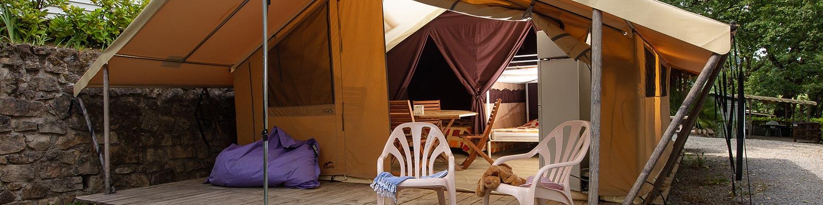 louer tente Ardèche