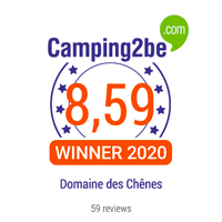 camping2be award domaine des chênes