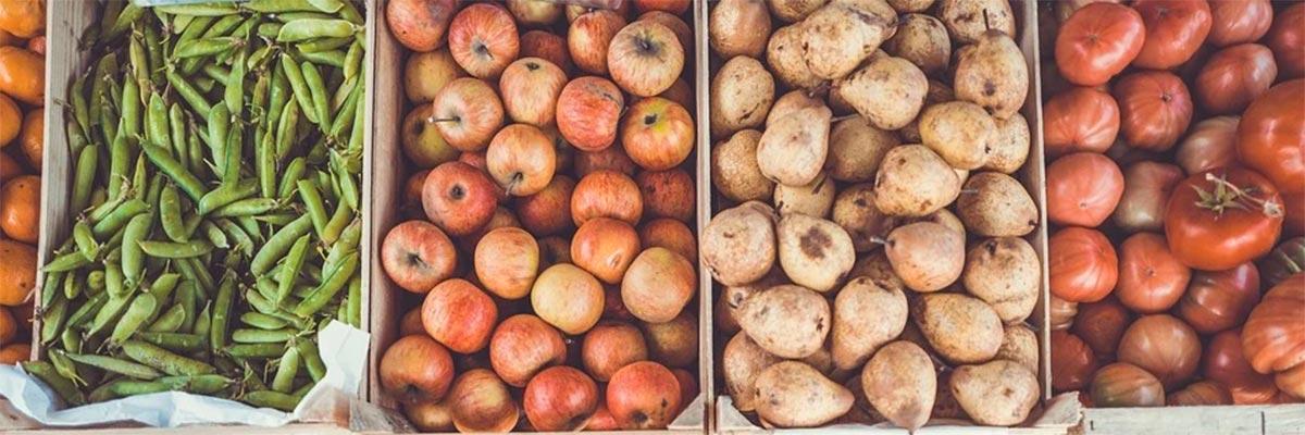 Faire le marché en Ardèche